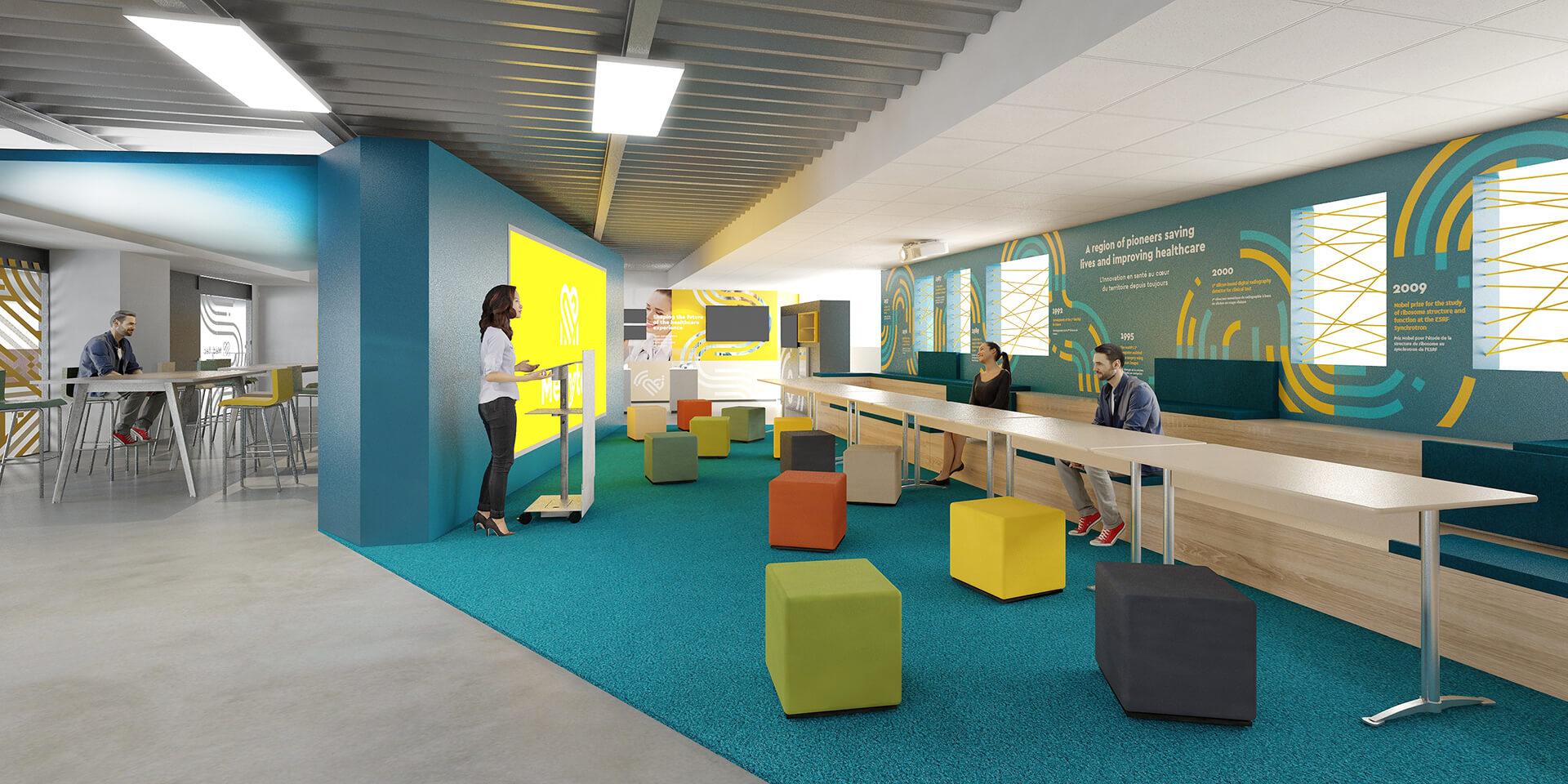 Medytec - Un espace conférence dédié aux présentations