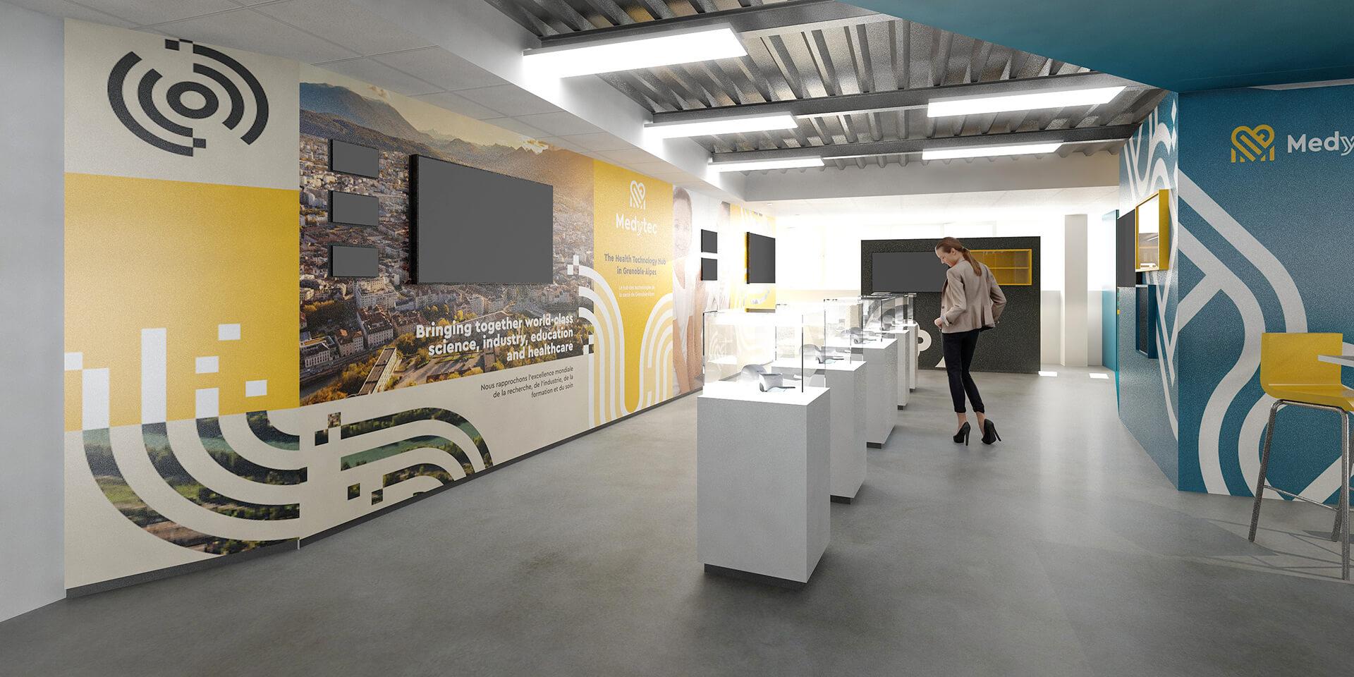 Medytec - Visitez le site de 150m2 et son espace showroom unique