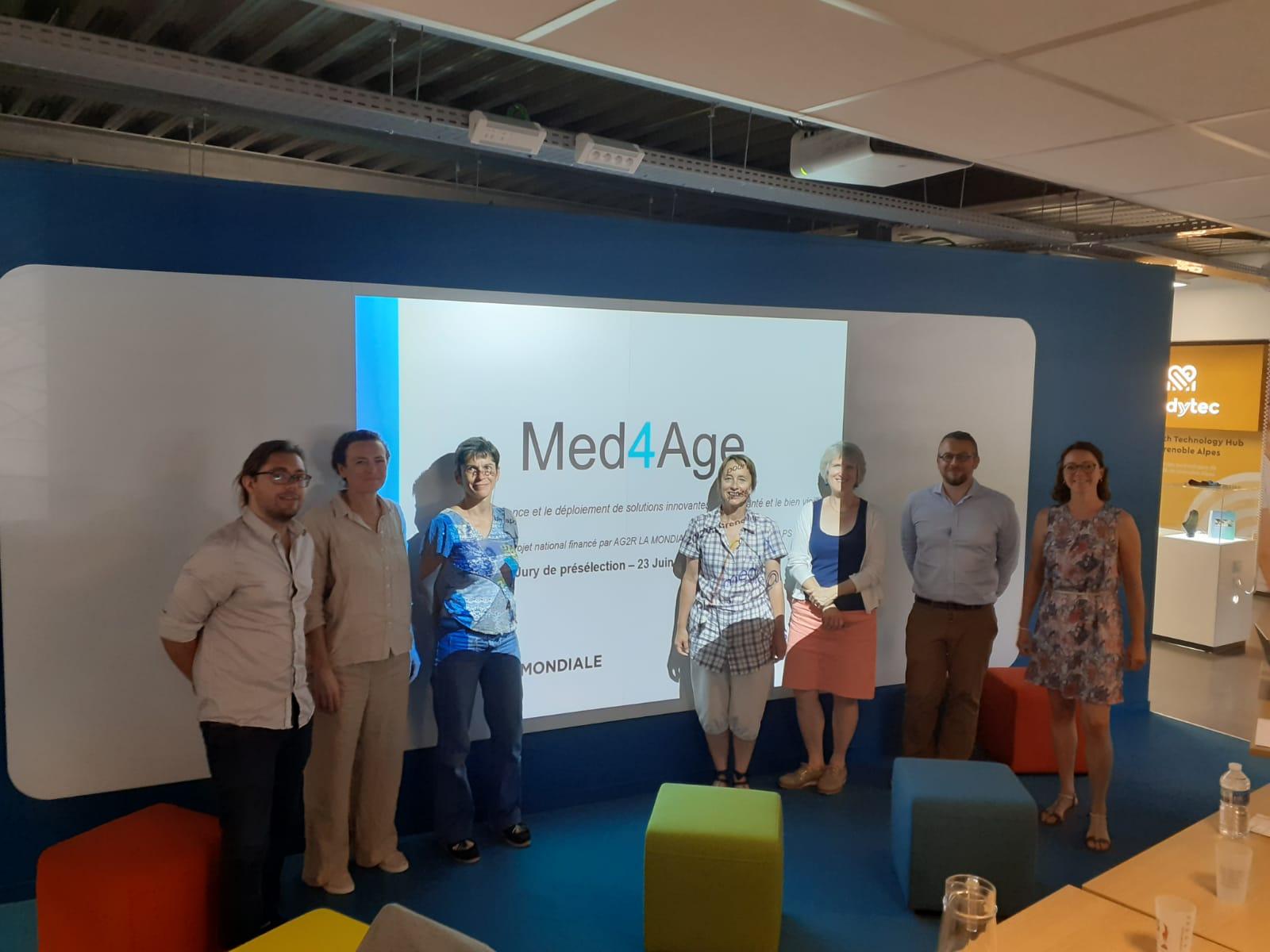 1er jury de sélection de l'appel à projet Med4Age