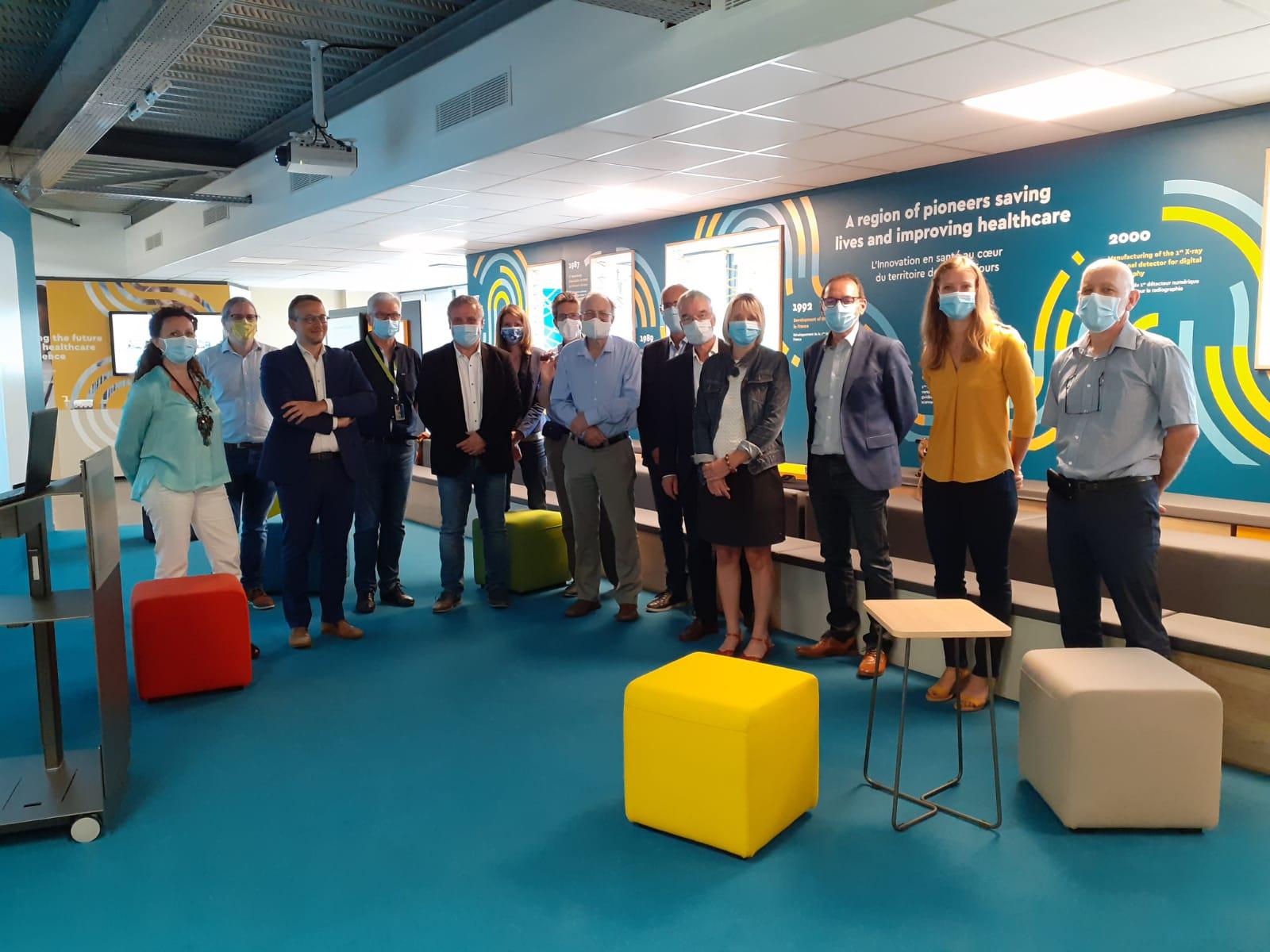 Visite officielle des membres fondateurs de Medytec